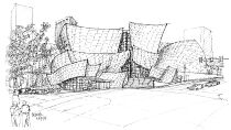 Sketches of Frank Gehry Watch Free